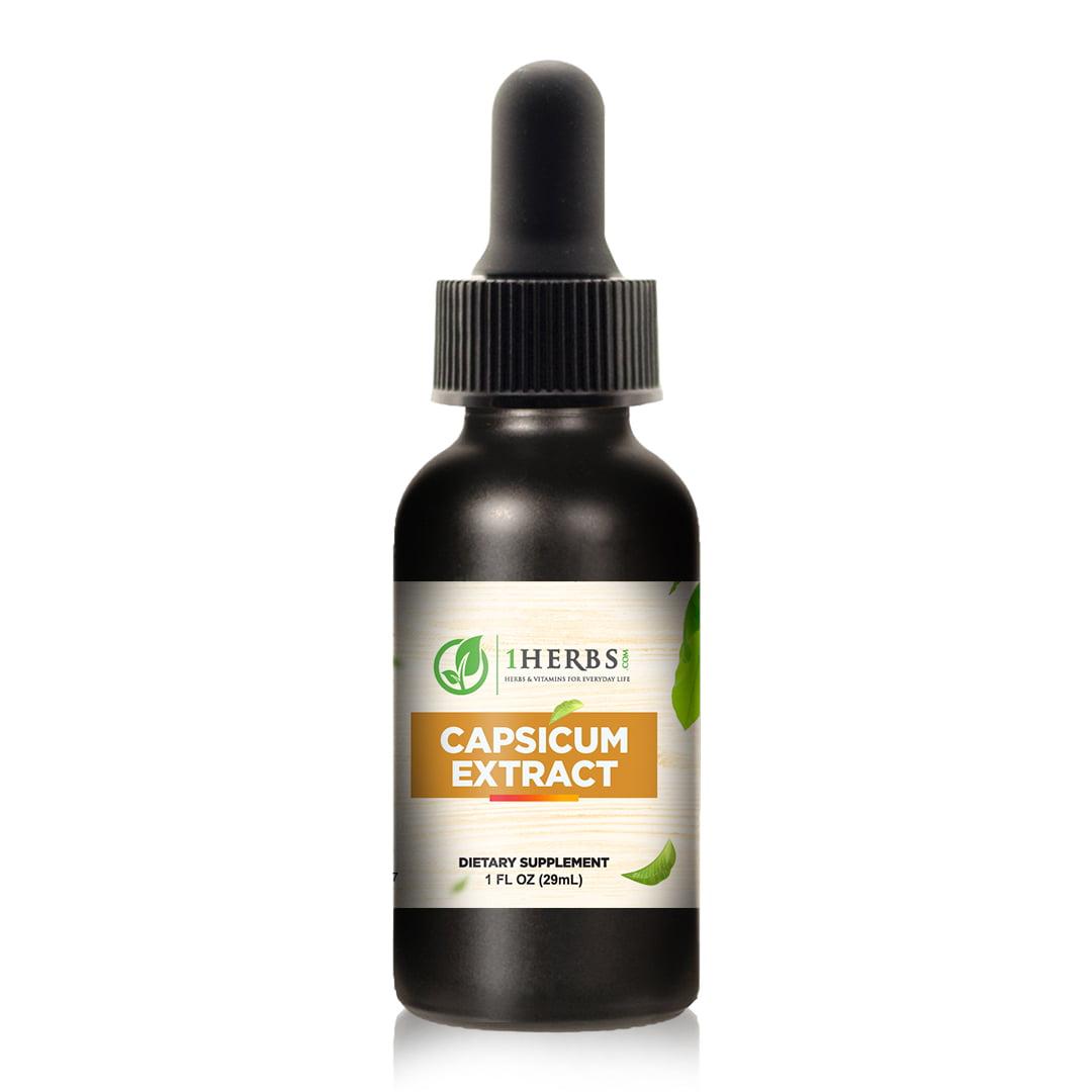 Capsicum Extract Product Bottle