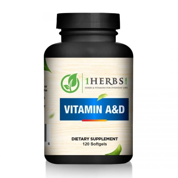 Vitamin A & Vitamin D go a long ways in keeping our bodies healthy.